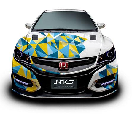ชุดแต่ง Civic FD ทรง Type R 2015
